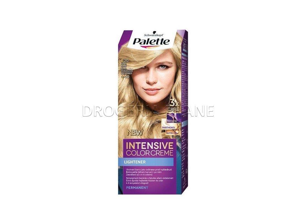schwarzkopf palette intensive colorcreme 0 00 farba na vlasy e20 super blond