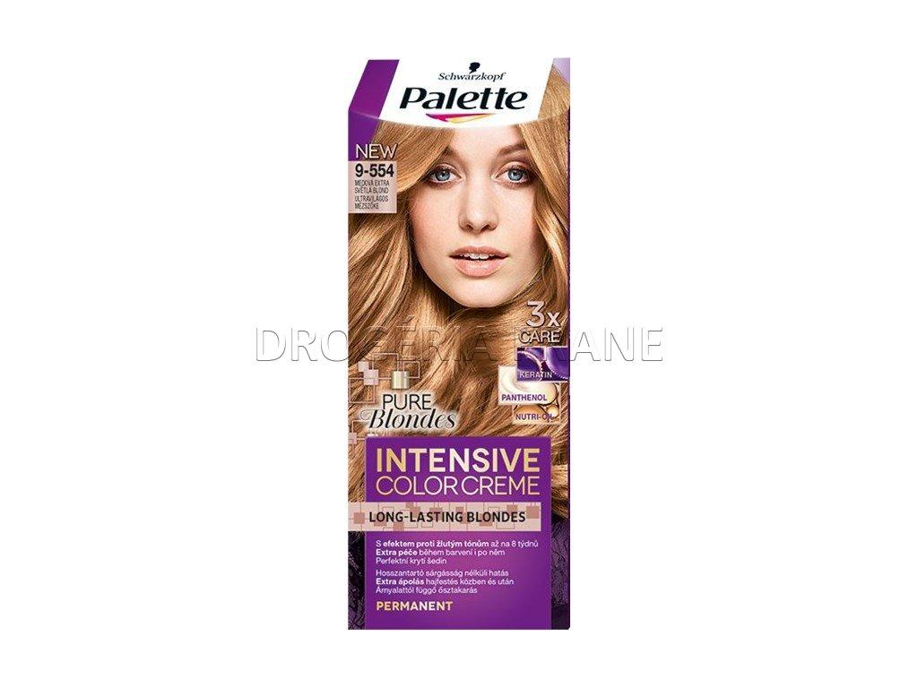 schwarzkopf palette intensive colorcreme 9 554 farba na vlasy medova extra svetla blond