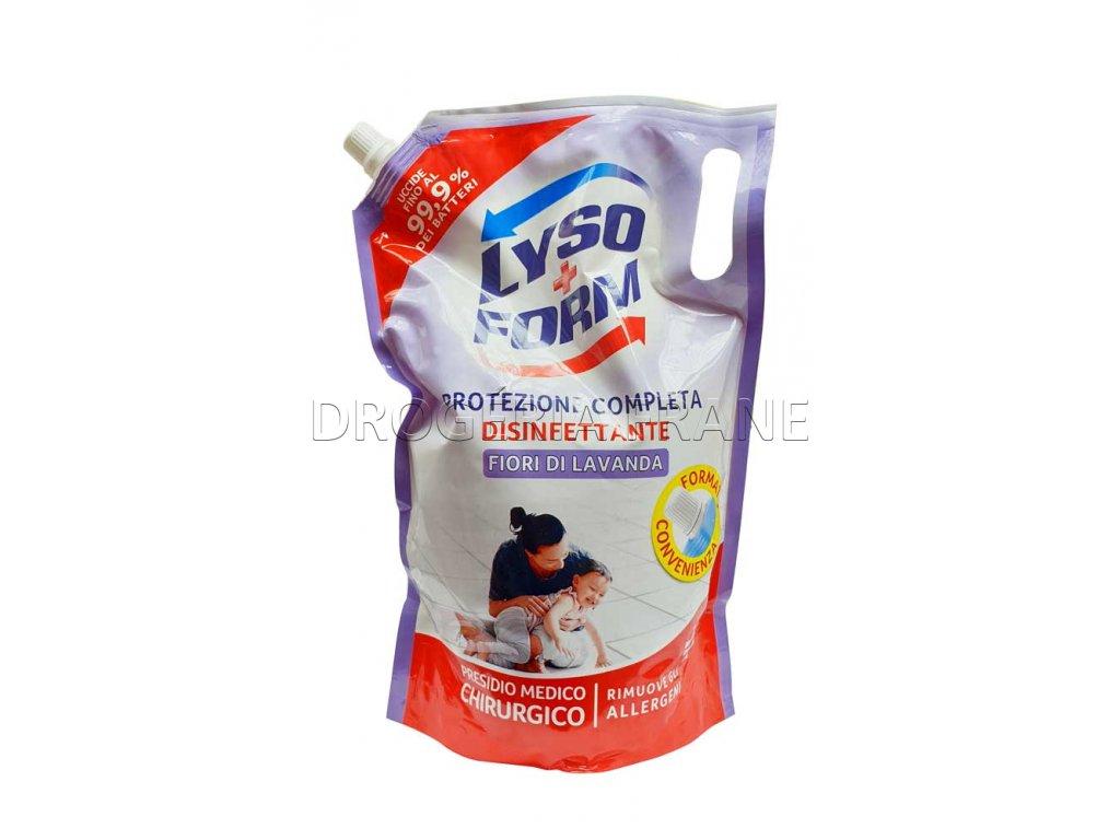 lysoform disinfettante fiori di lavanda dezinfekcny prostriedok na podlahy 1 9 l
