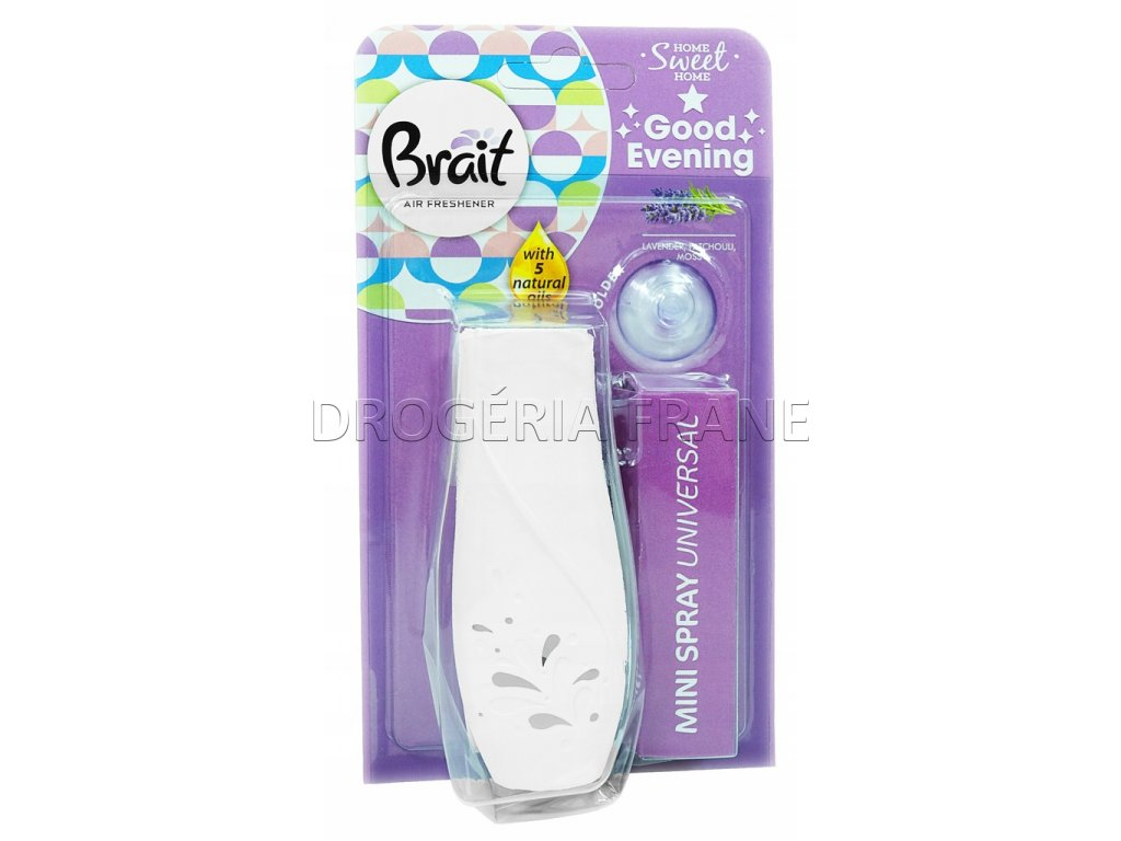 brait lavender mini spray universal 10 ml