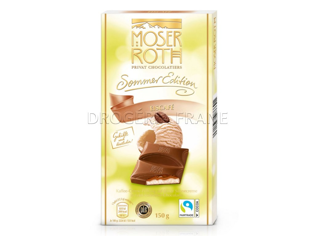 moser roth sommer edition eiscafe cokolada 150 g