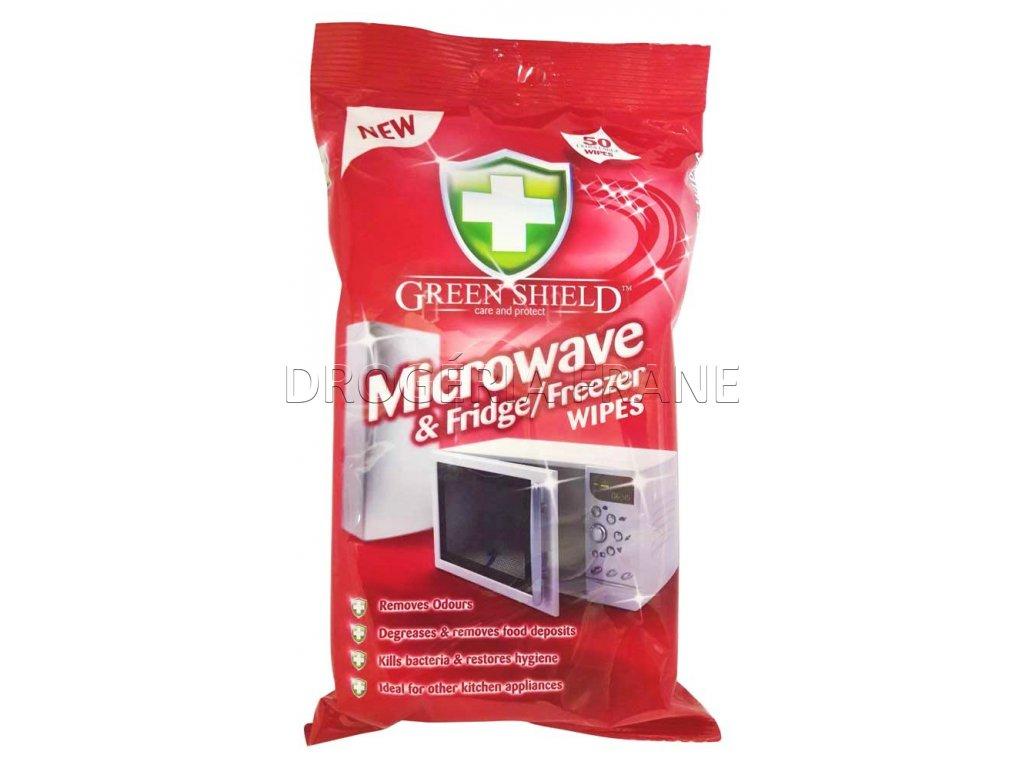 cistiace obrusky na chladnicky a mikrovlnky green shield mikrowave 50 ks