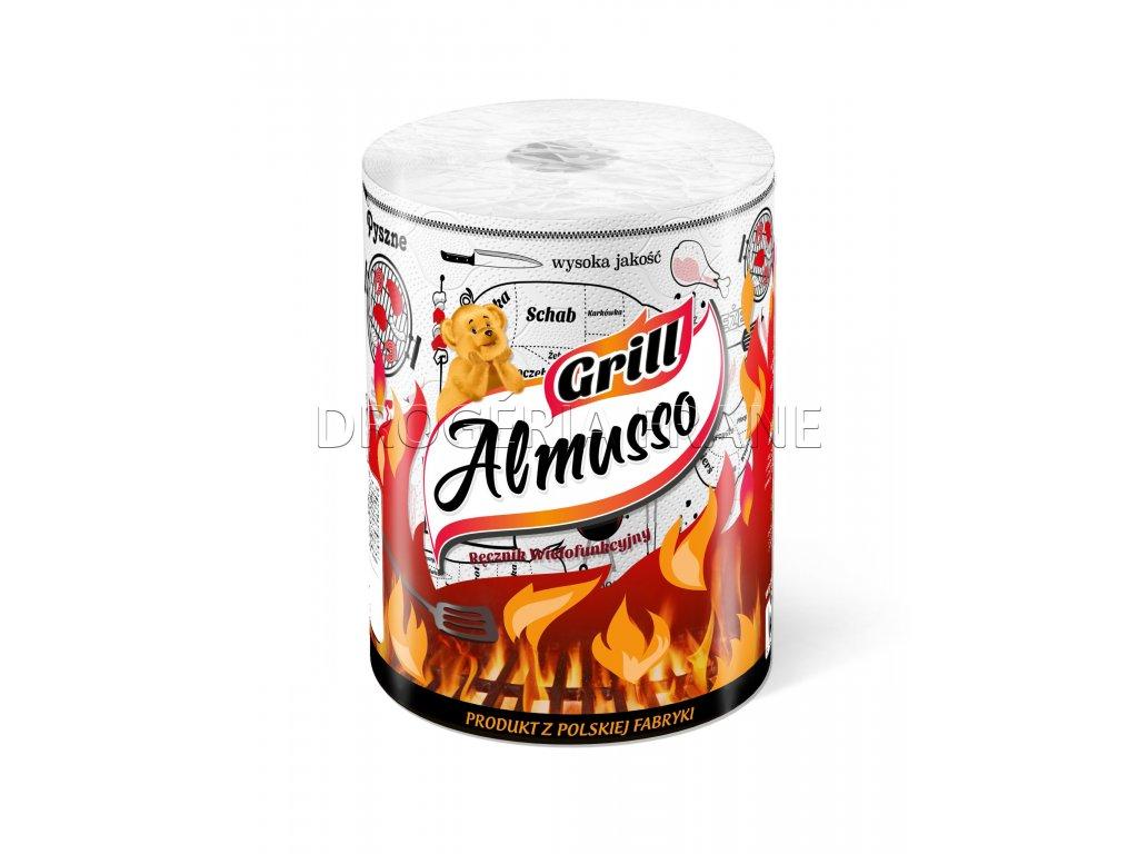 almusso grill 2 vrstvove kuchynske utierky 1 ks