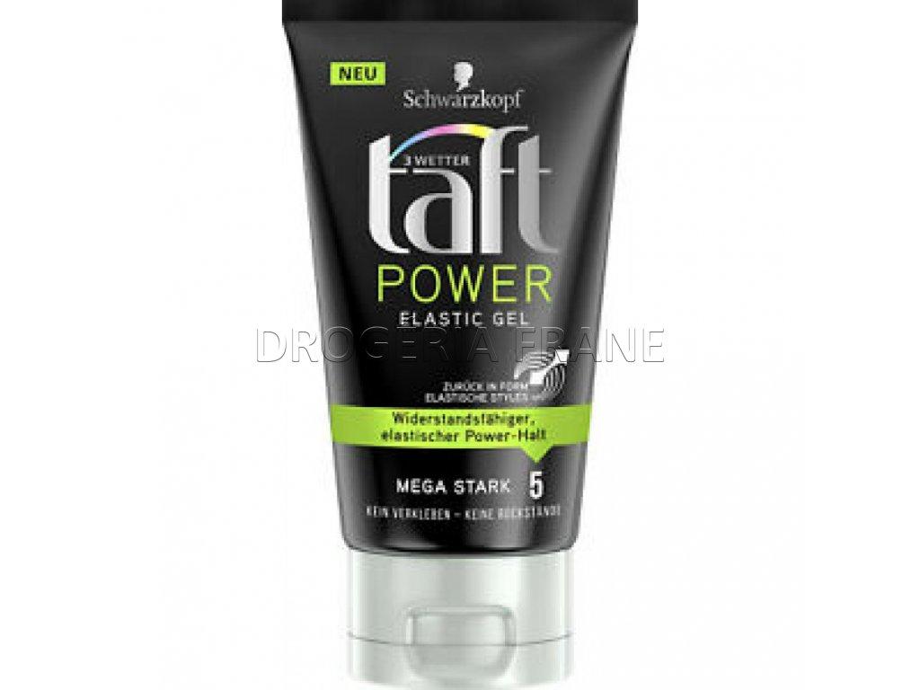 taft power elastic gel na vlasy 150 ml