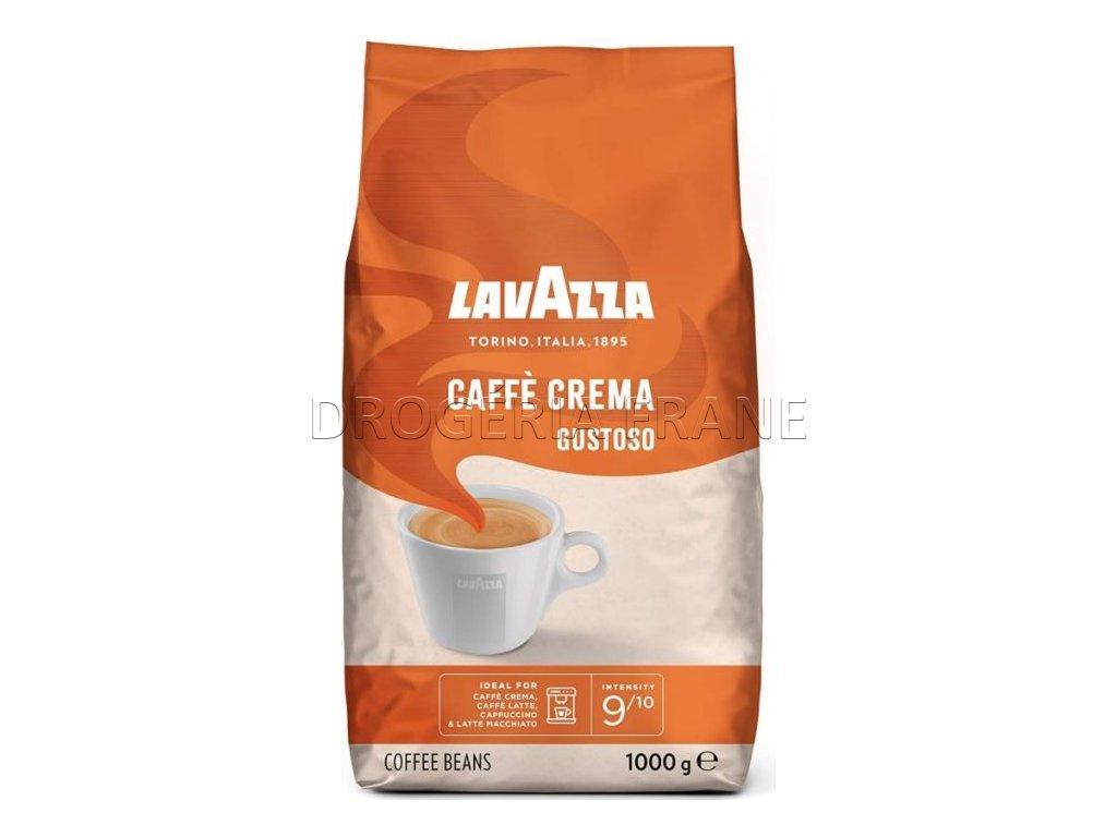lavazza caffe crema gustoso zrnkova kava 1 kg