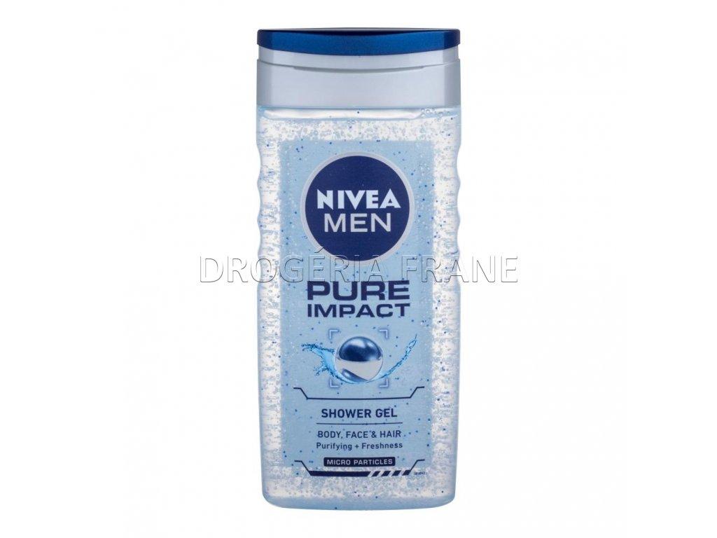 nivea men pure impact pansky sprchovy gel 250 ml