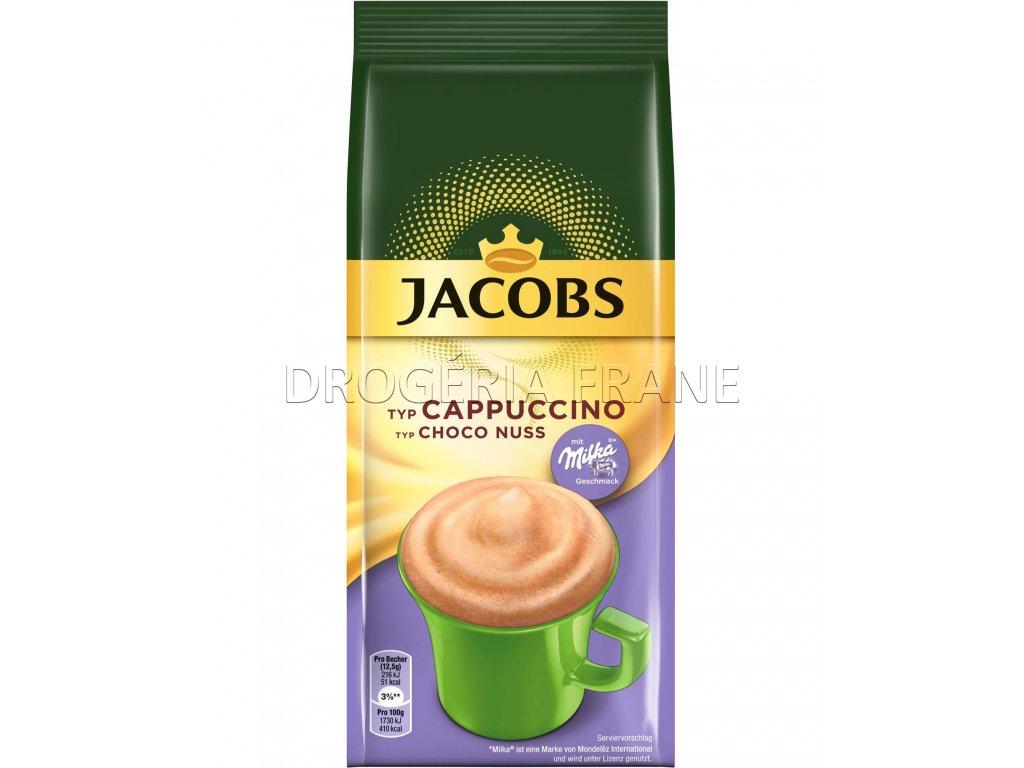 jacobs cappuccino choco nuss milka instatny napoj 500 g
