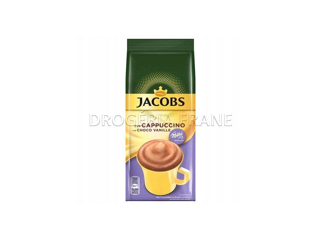Jacobs Cappuccino Choco Vanille Milka instatný nápoj - 500 g
