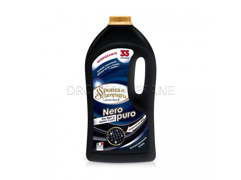 spuma di sciampagna nero puro gel na pranie 1 485 l 33 prani