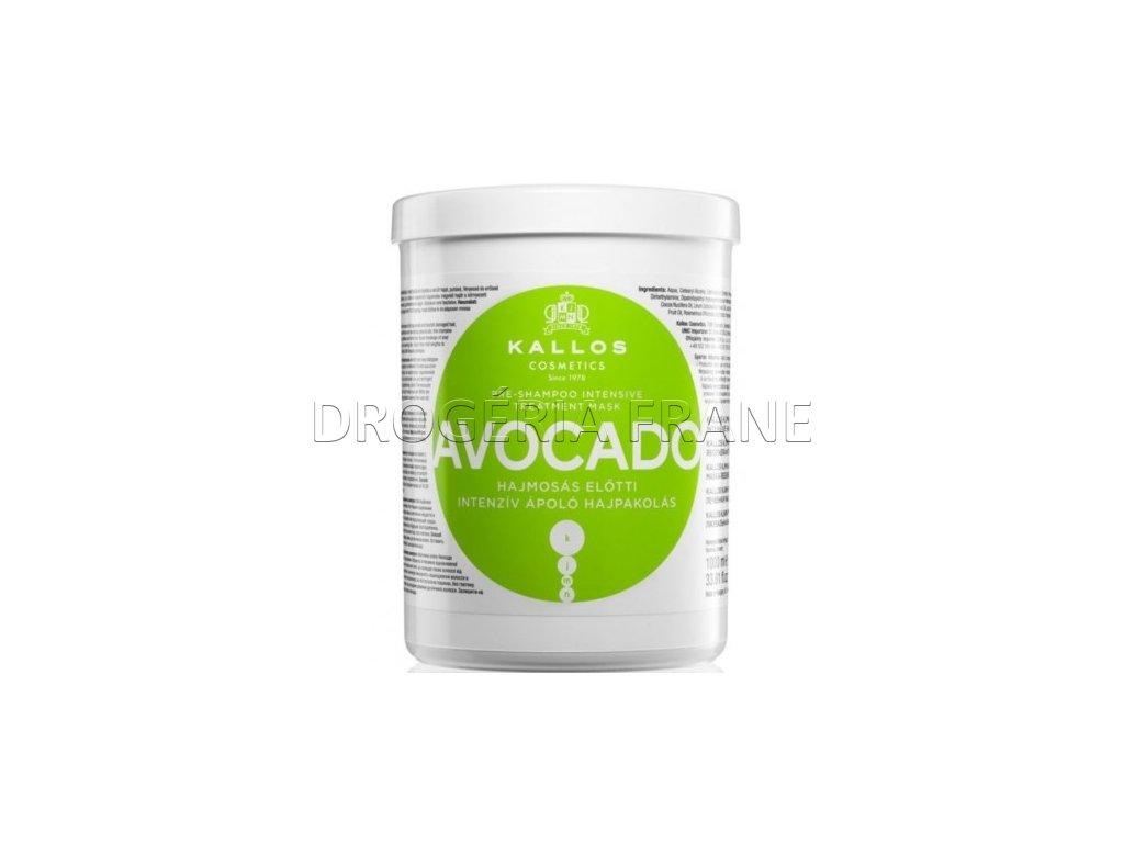 kallos maska na vlasy avocado 1000 ml