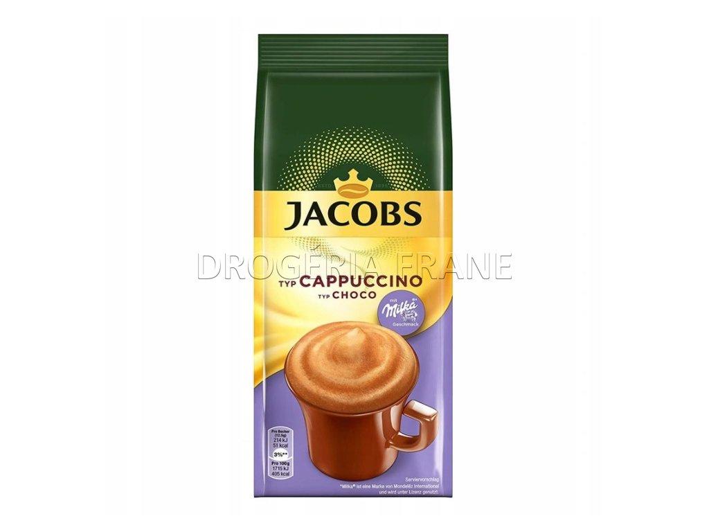 jacobs cappuccino choco milka instatny napoj 500 g