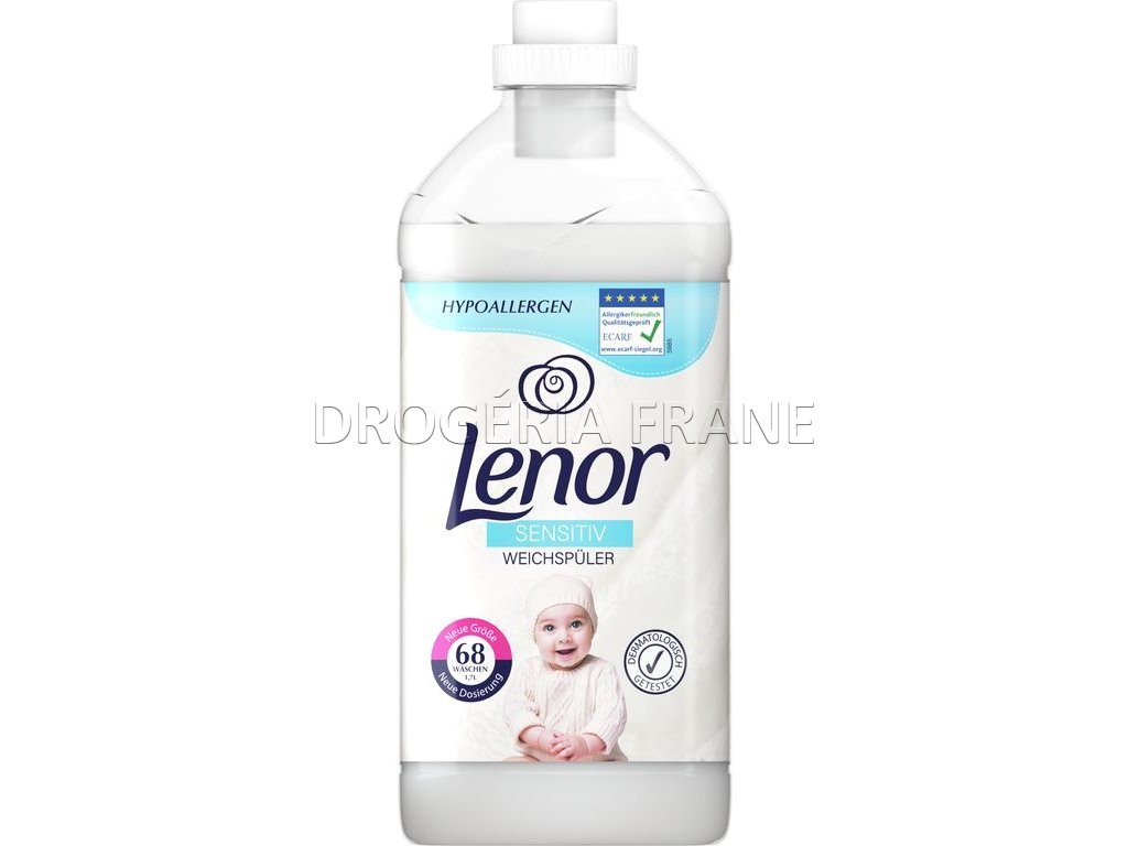 lenor sensitiv avivaz 1 7 l 68 prani