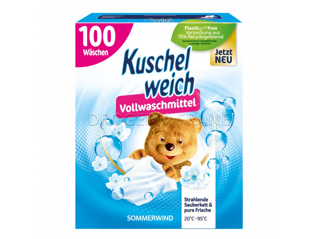 kuschel weisch sommerwind prasok na pranie 5 5 kg 100 prani
