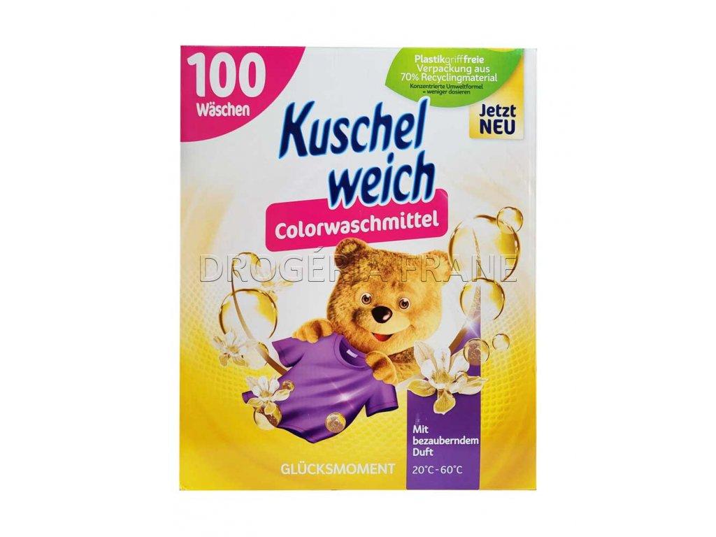 kuschel weisch glucksmoment color prasok na pranie 5 5 kg 100 prani