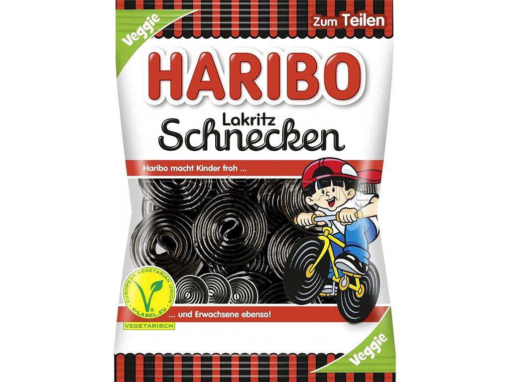 haribo lakritz schnecken ovocne zele cukriky 175 g