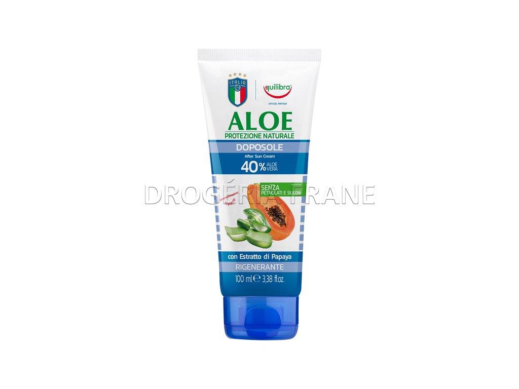 quilibra aloe doposole alter sun cream regeneracny krem po opalovani 100 ml