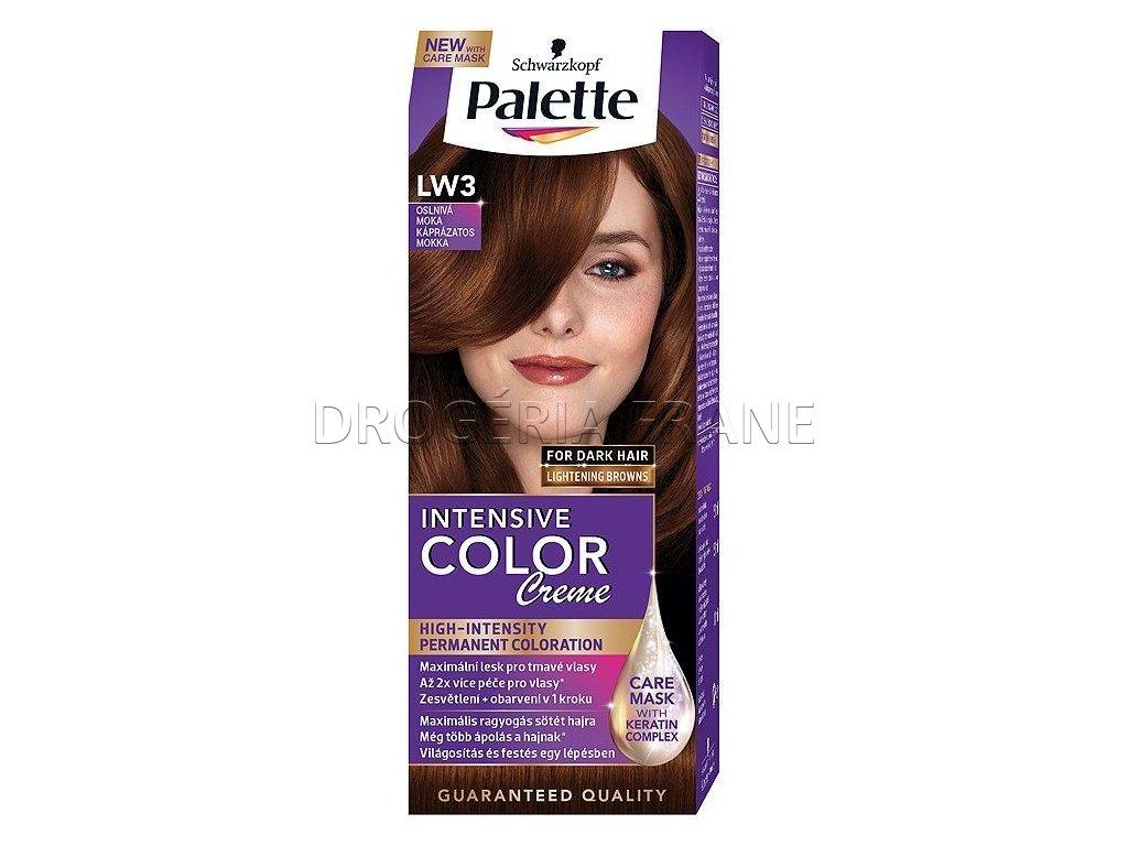 schwarzkopf palette intensive colorcreme lw3 farba na vlasy oslniva moka