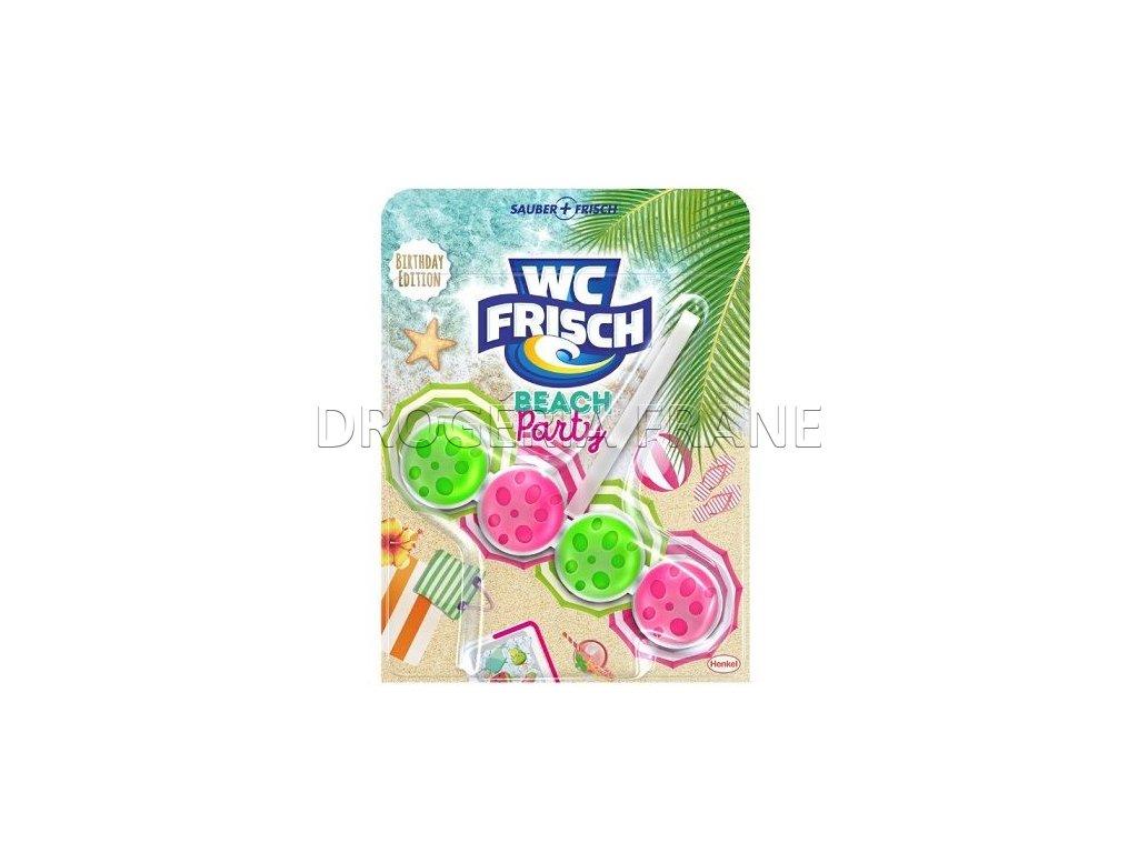 WC Frisch Beach Party  WC záves guličky - 50 g