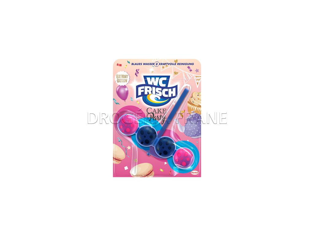 wc frisch cake party wc zaves farbiaci 50 g