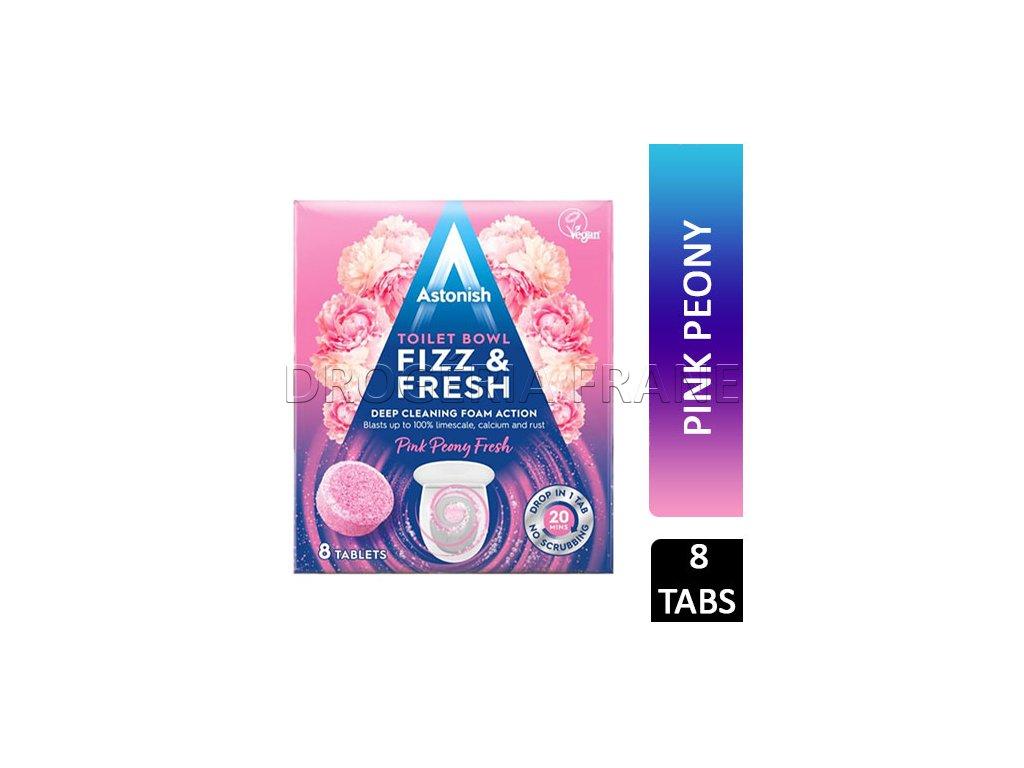 astonish toilet fizz fresh wc tabs cistic na toalety 8 ks