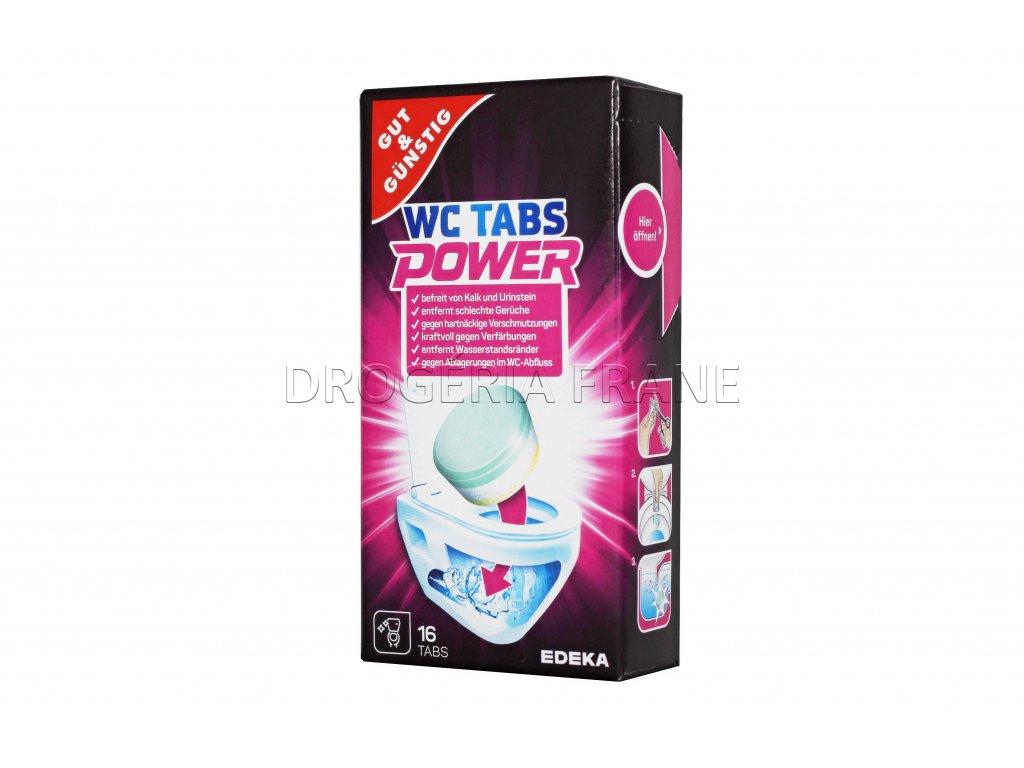 cistic na odpady toalety power wc tabs multi aktiv 16 ks
