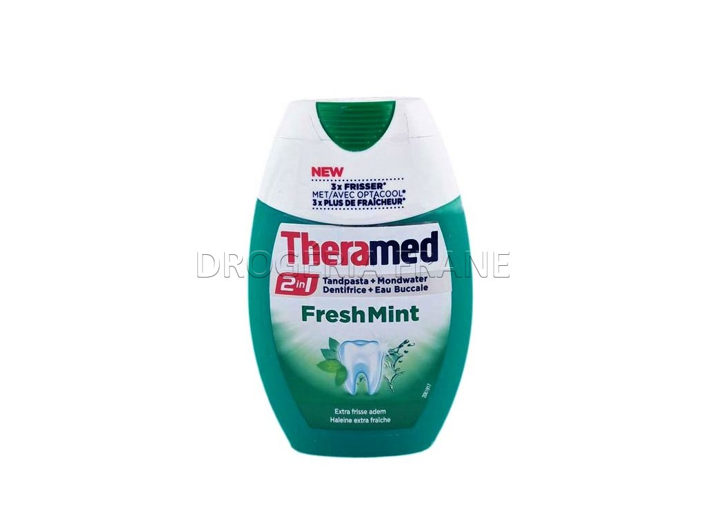 zubna pasta theramed 2 v 1 fresh mint 75 ml