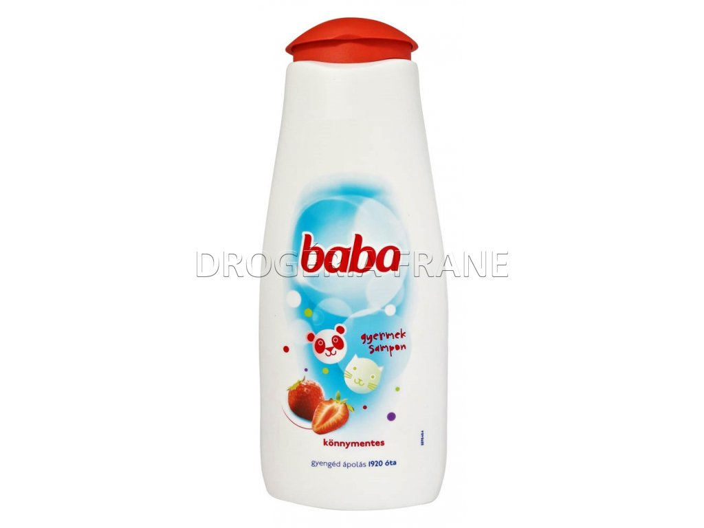 detsky sampon baba 400 ml