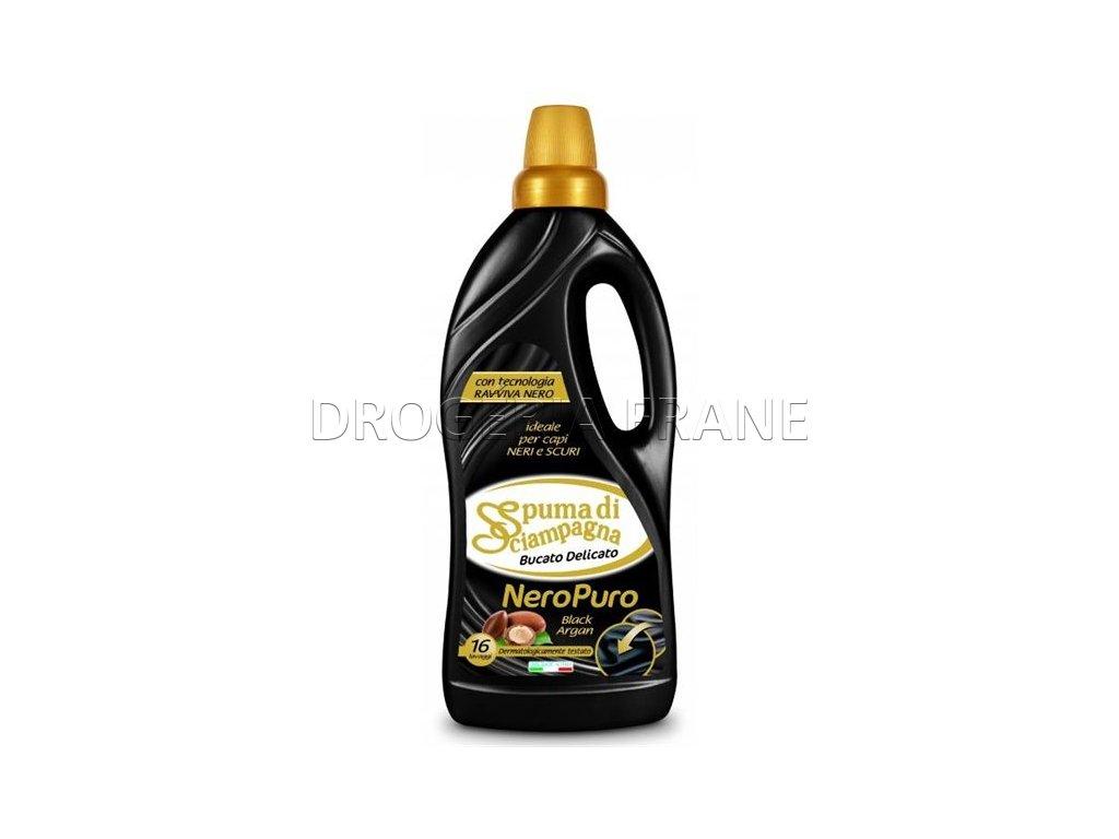 spuma di sciampagna bucato delicato black gel na pranie 1 l 16 prani