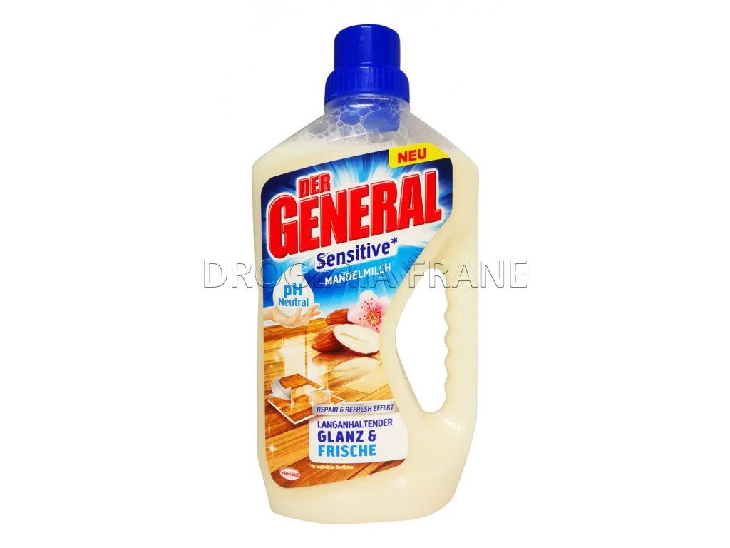general cistiaci prostriedok na podlahy sensitive 2 mandelmilch 750 ml