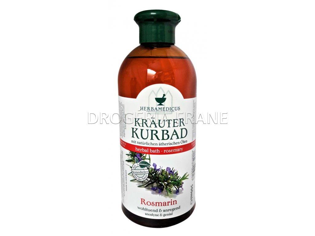 bylinny olej do kupela kurbad rosmarin 500 ml