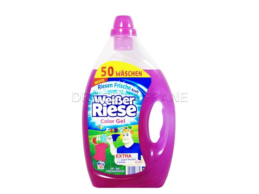 gel na pranie weisser riese na farebne pradlo 3 65 l 50 prani 2