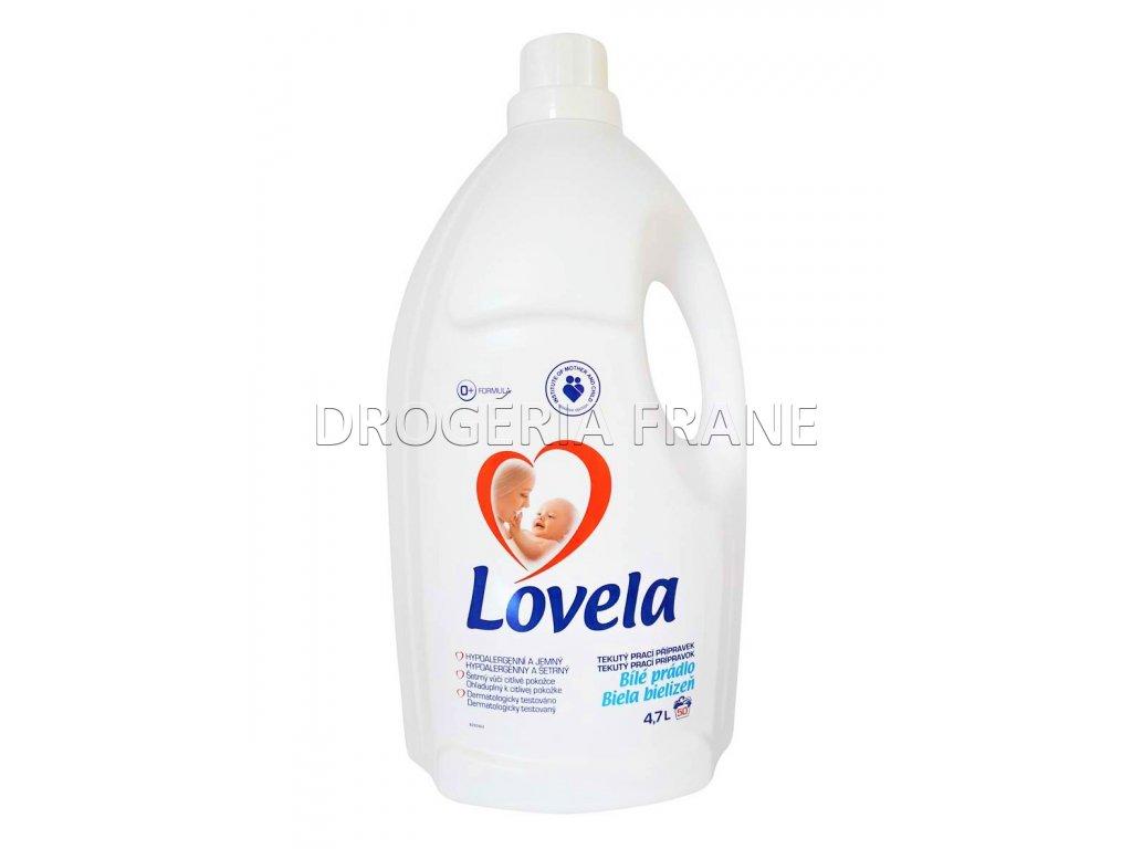 gel na pranie lovela 4,7 l biele pradlo