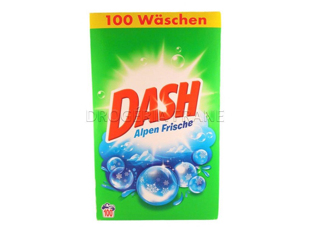 prasok na pranie dash alpen frische 6 5 kg 100 prani