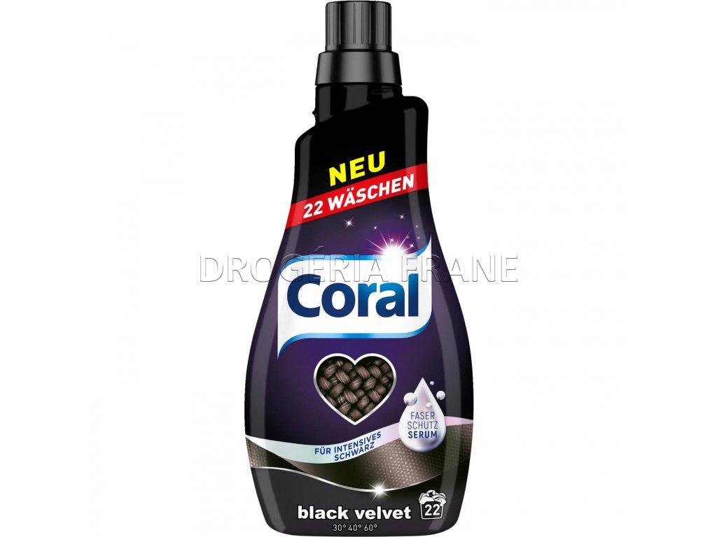 gel na pranie coral black velvet na cierne pradlo 1 1 l 22 prani