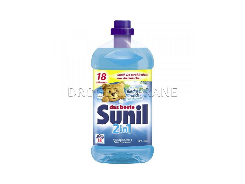 gel na pranie sunil 2 in 1 s avivazou kuschelweisch frischeduft 1 314 l 18 prani