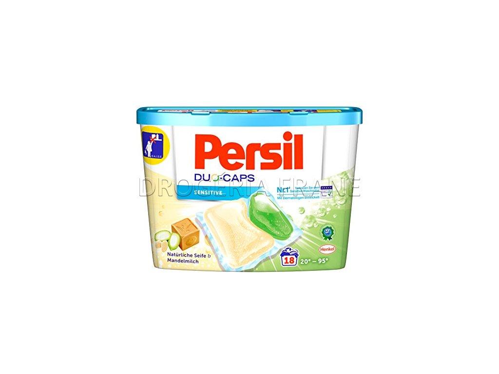 kapsule na pranie persil duo caps sensitive mandelmilch 18 ks