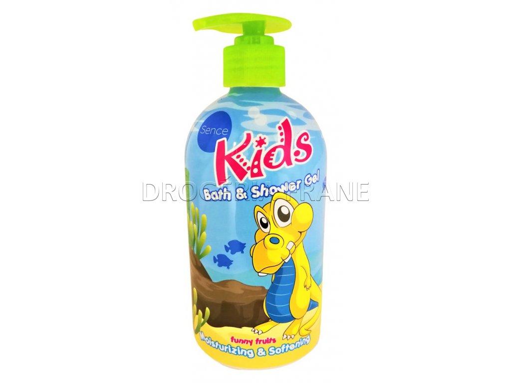 detsky sprchovy gel pena do kupela kids funny fruits 500 ml