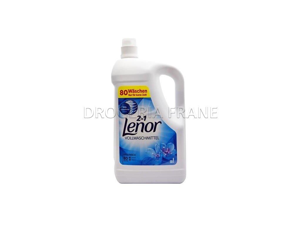 gel na pranie lenor weisse wasserlilie 4 4 l 80 prani