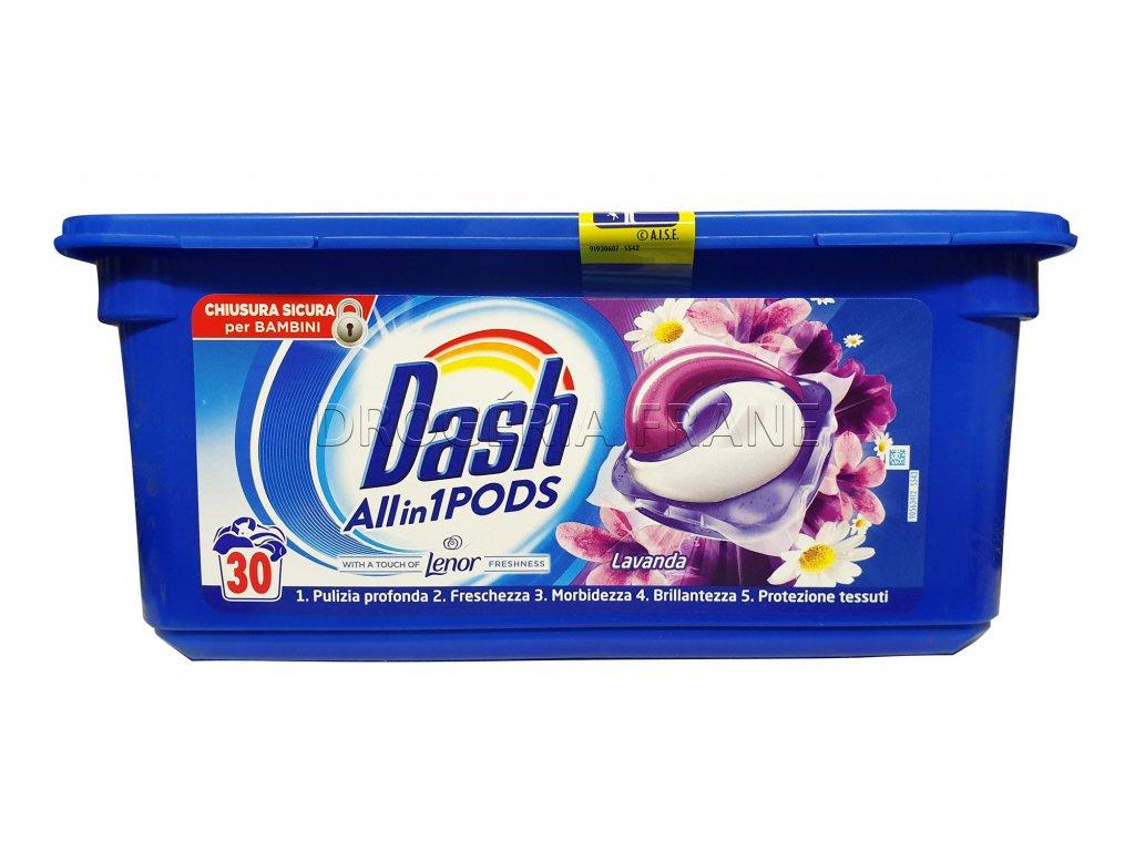 kapsule na pranie dash 3 v 1 lavanda 30 ks