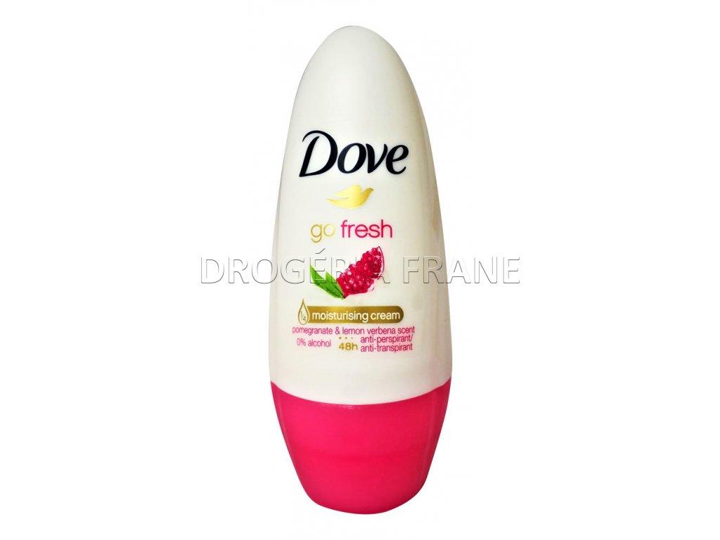 dove damsky anti perspirant go fresh pomegrante lemon verbena roll on 50 ml
