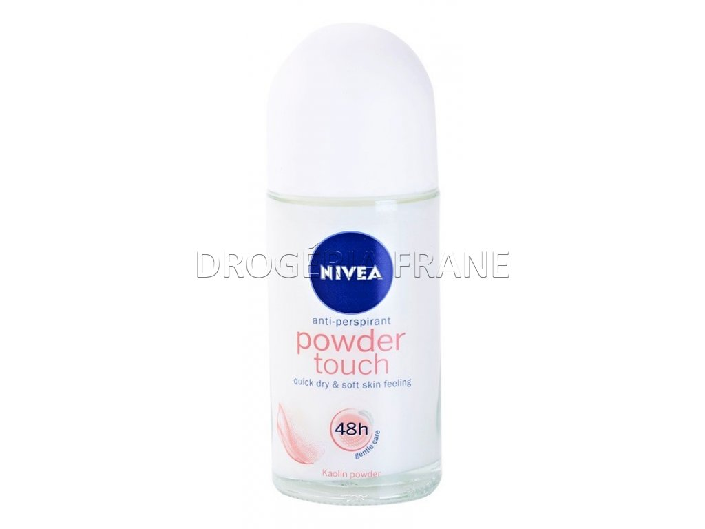nivea powder touch antiperspirant roll on 50 ml