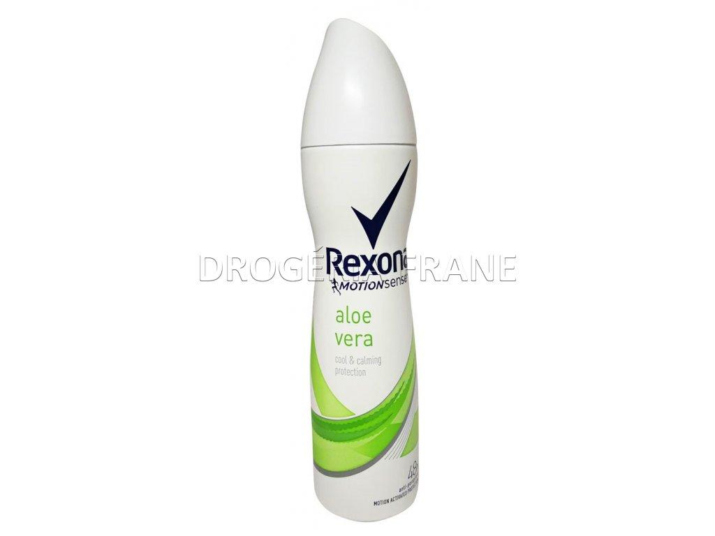 damsky antirespirant rexona aloe vera cool calming protection 150 ml