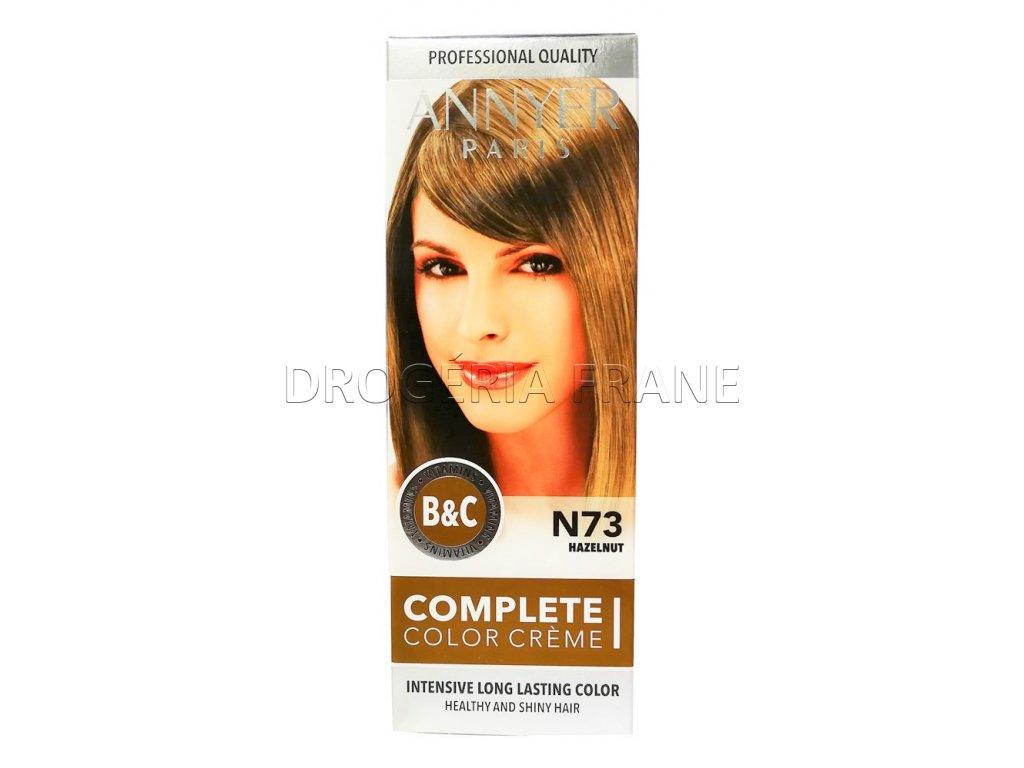 annyer profesionalna farba na vlasy n73 orieskova