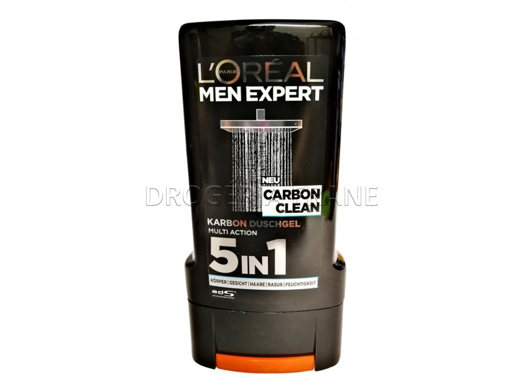 l oreal pansky sprchovy gel men expert carbon clean 5v1 300 ml