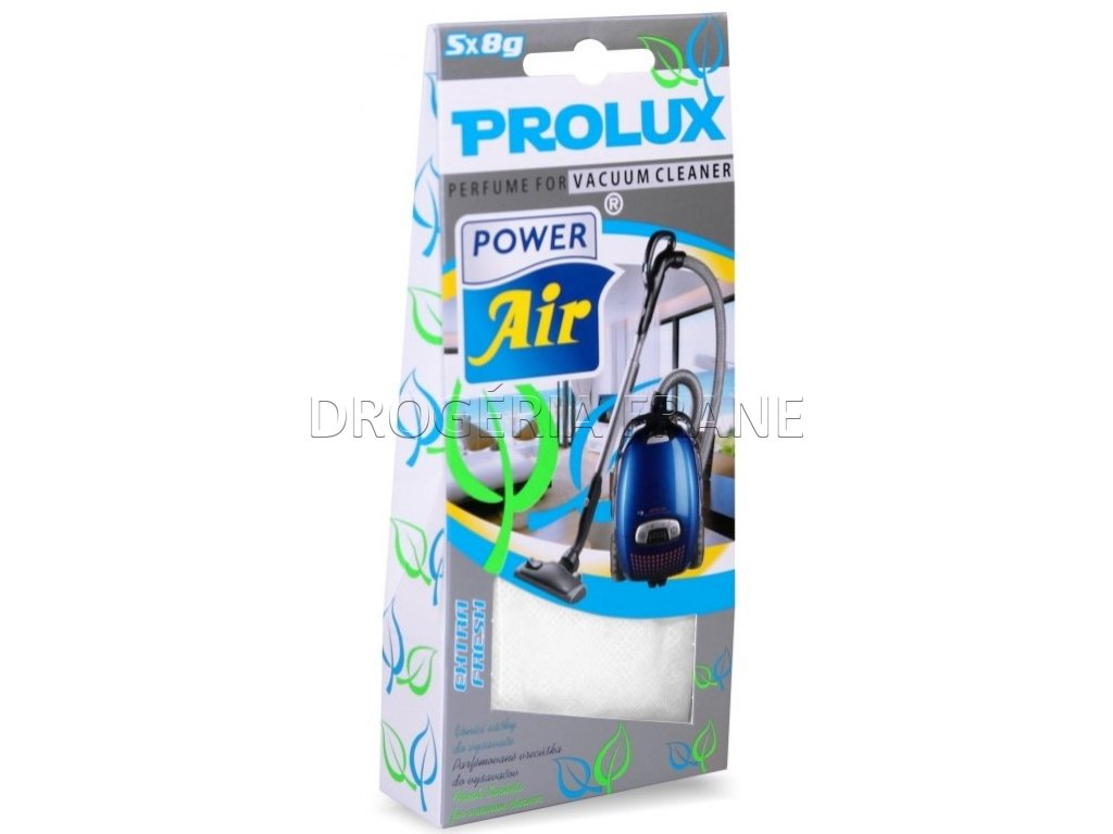 parfumovane vrecuska do vysavaca power air extra fresh 5 x 8 g