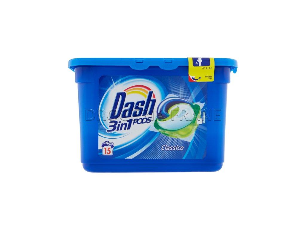 kapsule na pranie dash 3in1 15 ks