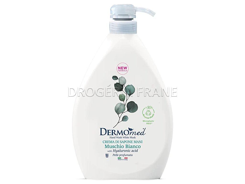 dermomed gel na ruky cream soap biele pizmo s pumpickou 1000 ml