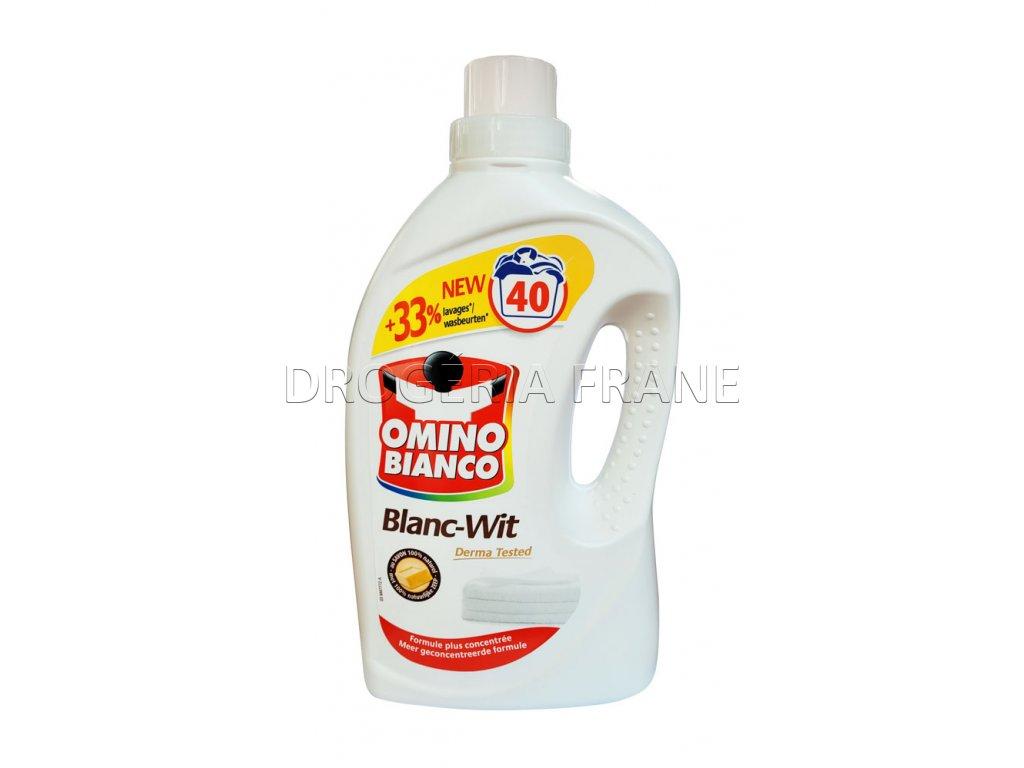 gel na pranie omino bianco blanc wit 2 l 40 prani