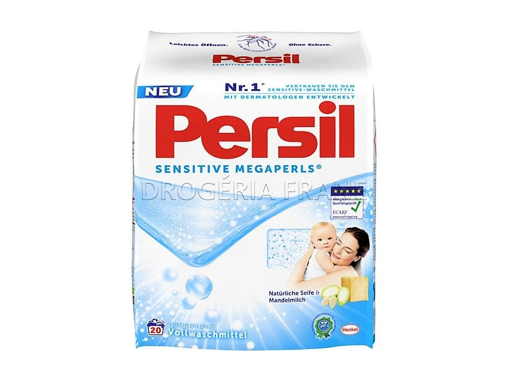 prasok na pranie persil sensitive megaperls 1 48 kg 20 prani