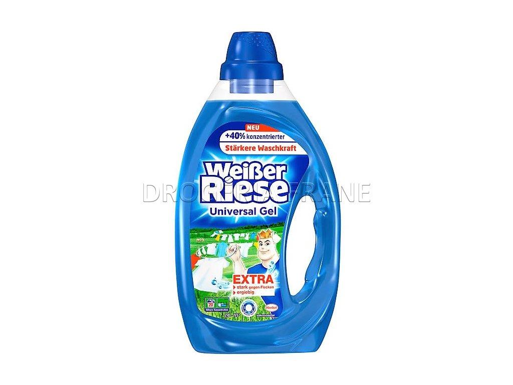 gel na pranie weisser riese na biele pradlo 1 0 l 20 prani